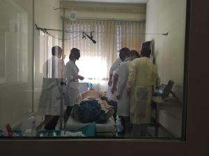 Scenario in Sim Room B