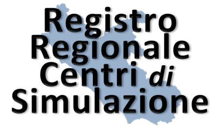 Registro regionale dei Centri di Simulazione medica